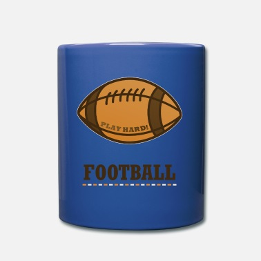Bowling Team Ball Football Super Bowl Sport Helmet - Full Colour Mug
