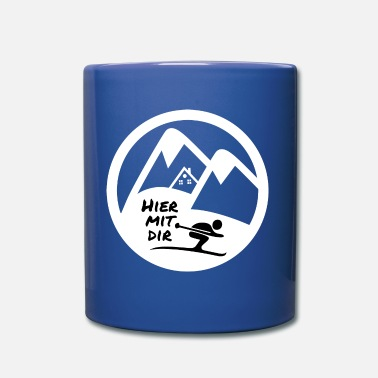 Huettenzauber here with you hut fun - Mug