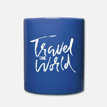 Travel Travel Travel World en disant - Mug
