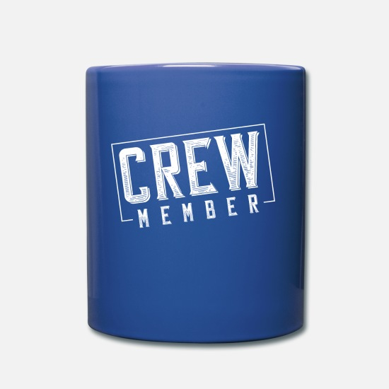 Group Mugs & Drinkware - crew member - Mug royal blue