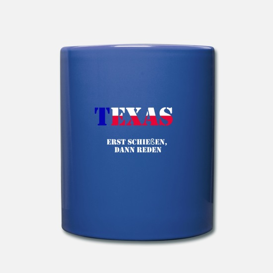 Texas Tassen & Becher - Simply Texas - Tasse Royalblau