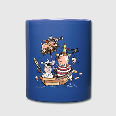 Funny farm pirates - pirate - boucaniers - Mug uni