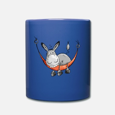 Âne Relaxing Donkey - Comic - Cartoon - Mug uni
