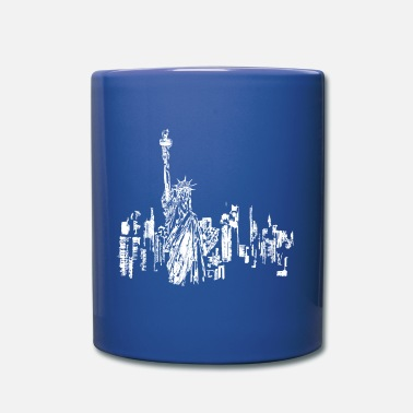 New Age new york white - Taza