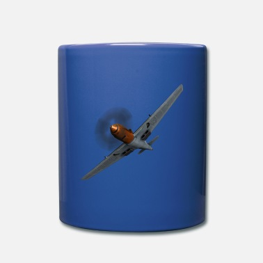 Ww2 Airplane air combat propeller plane WW2 - Mug
