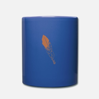 Feathers Feather feather bird feather eagle feather Feather jewelery - Mug