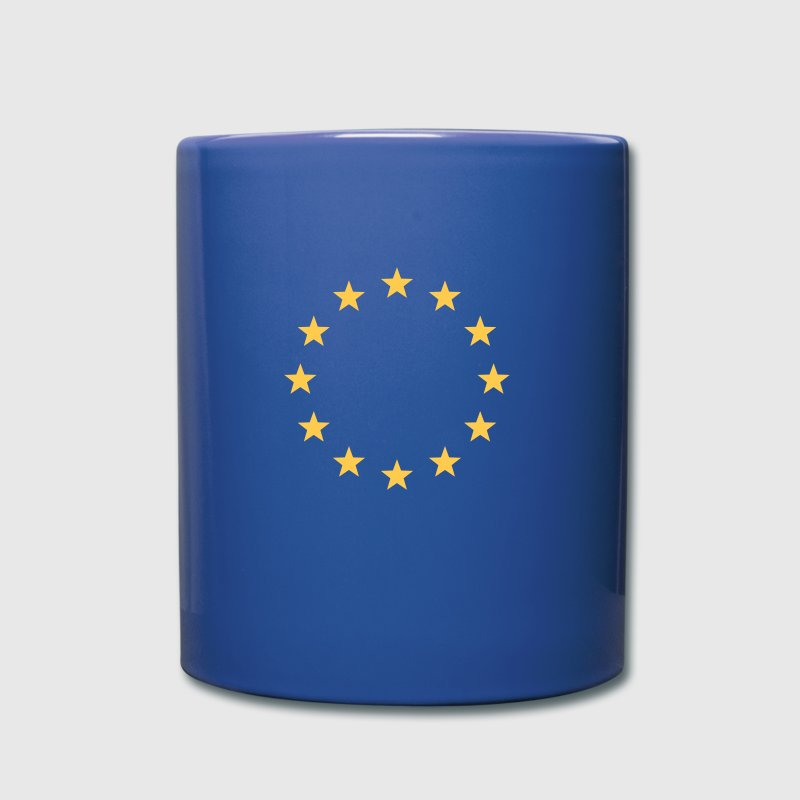 EU, Stars, Europe, flag, European Union, Symbol - Full Colour Mug