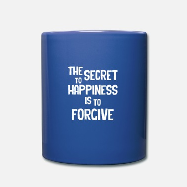 Habitat the secret to happiness is to forgive - Mug