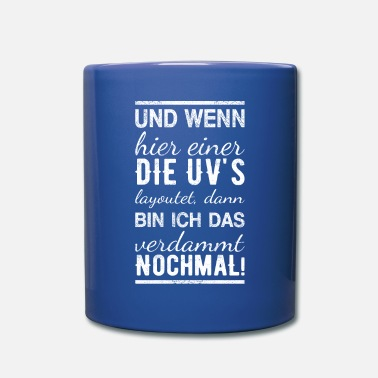 Uv And if here the UV's ... - 3D Artist Shirt - Mug