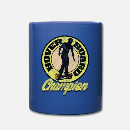 S'aimer Mugs et récipients - CHAMPION hover board - Mug bleu royal