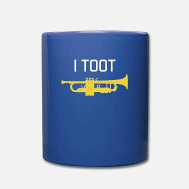 Marchingband Trumpet - I TOOT - Gift, funny brass band - Mug