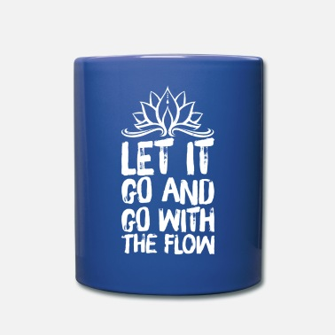 White Yoga Méditation Spiritualité Flow White - Mug