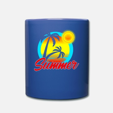 SUMMER Palm trees Sun - Tasse