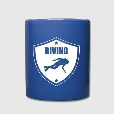 Diving - Taza de un color