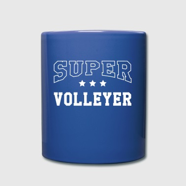 Super Volleyer - Tasse einfarbig