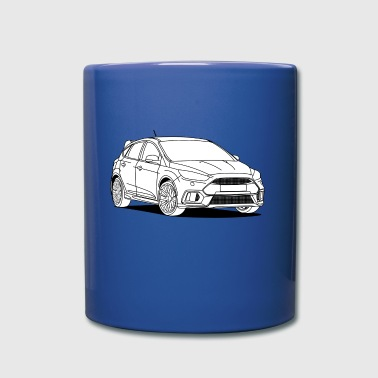 Sporty Hatchback - Full Colour Mug