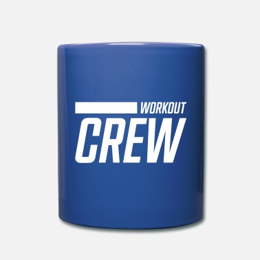 Body Building workout crew stroke - Mug
