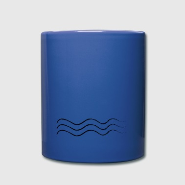 Just waves - Tasse einfarbig