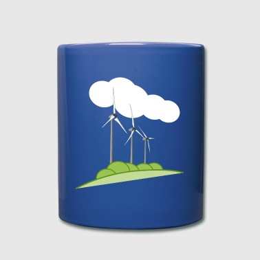 Wind turbine - Full Colour Mug