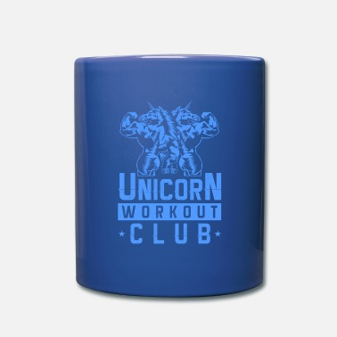 Workout Unicorn workout gear gym fitness - Mug