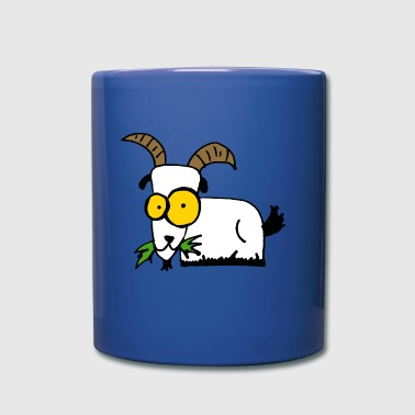 Freaky goat - Full Colour Mug