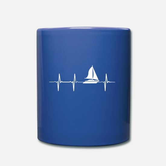 Barca Tazze & Accessori - Heartbeat Sailing - Tazza blu royal