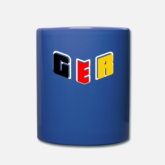 Patriot Mugs & Drinkware - GER Germany - Mug royal blue