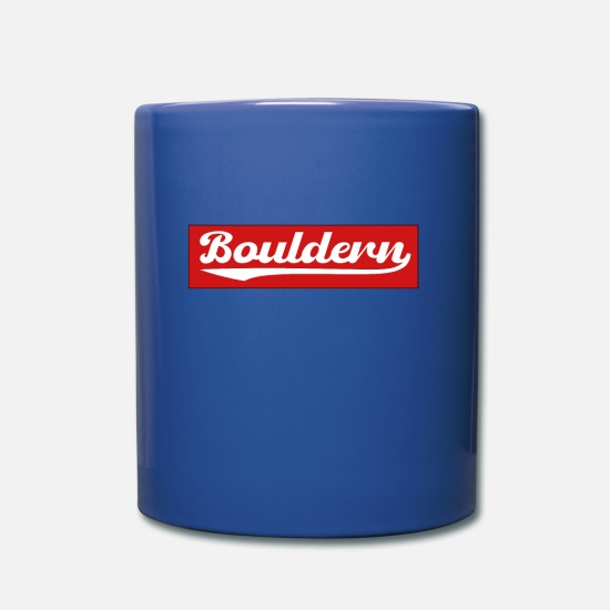 Gift Idea Mugs & Drinkware - bouldering - Mug royal blue
