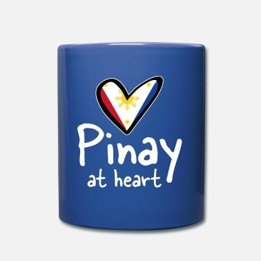 Pinay Phillipines Pinay FIlipina heart love gift - Mug