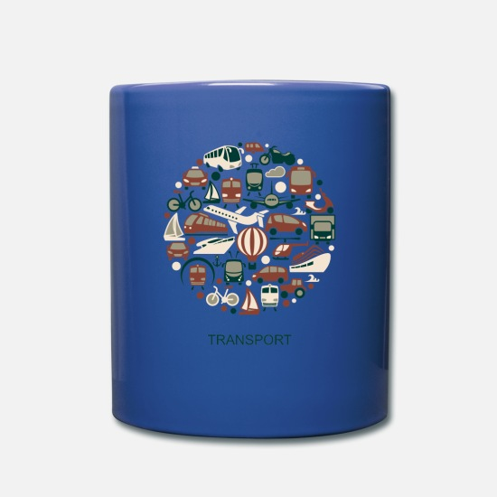 Transporter Tassen & Becher - Transport - Tasse royal Blau