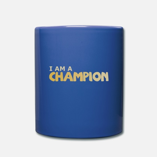Super Mugs et récipients - champion - Mug bleu royal