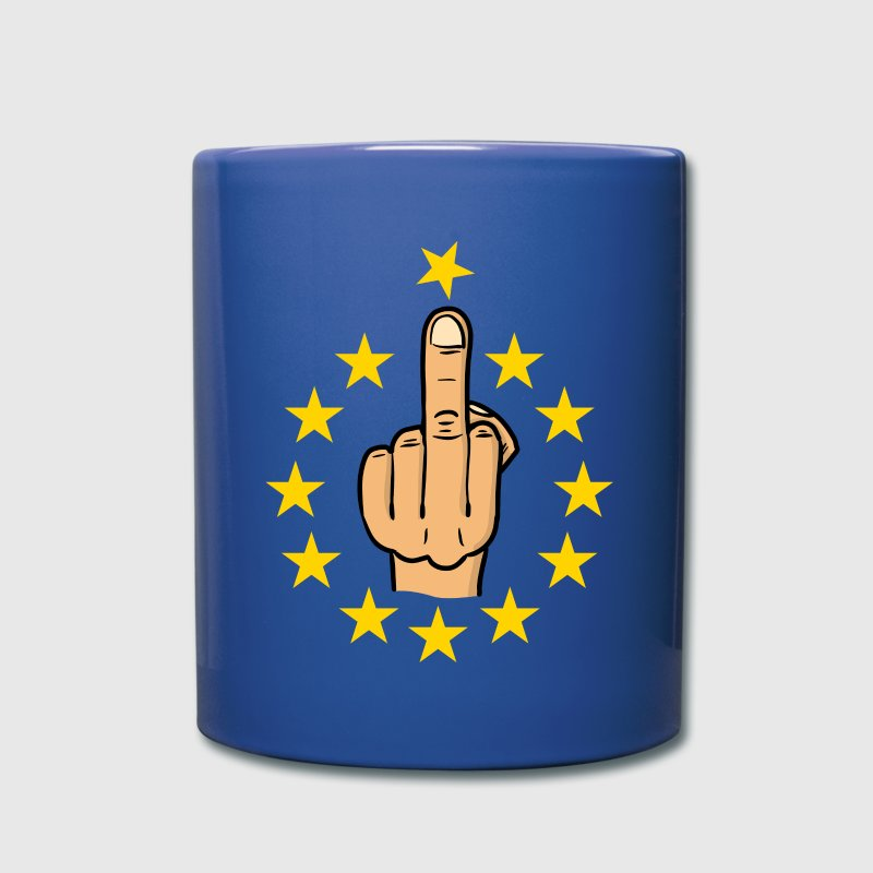 fuck eu / brexit / anti europe / fuck europe - Full Colour Mug