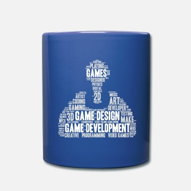 Development Game Developer Game Developer Games Designer - Full Colour Mug