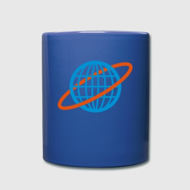World revolves - Full Colour Mug