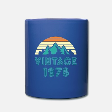 1976 1976 - Taza de un color