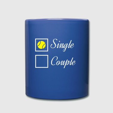 Tennis Single - Mug uni