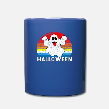 Trait esprit vintage halloween - Mug