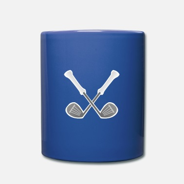 Cross Golf Crossed golf clubs - Mug