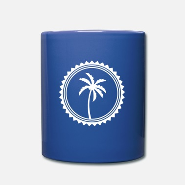 Logo palm circle icon - Mug