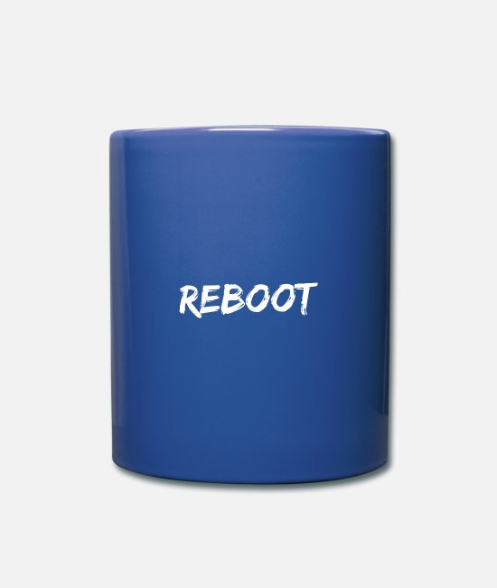 Java Mugs & Drinkware - Reboot - Mug royal blue