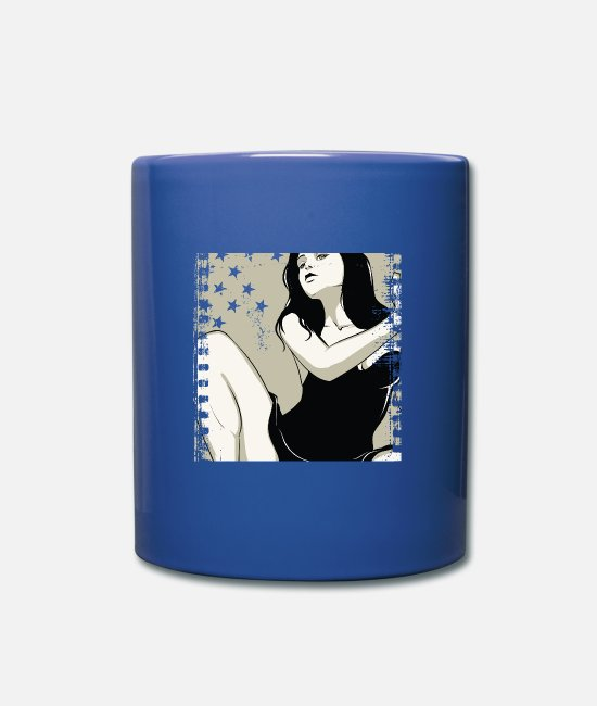 Sexy Mugs & Drinkware - Girlfriend - Mug royal blue
