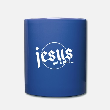 Local Jesus has a plan - Mug