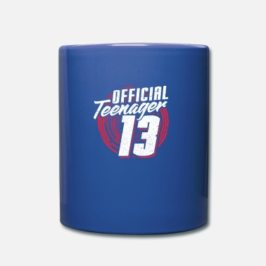 Teenager Teenage 13 Birthday Officially Youth Gift - Full Colour Mug