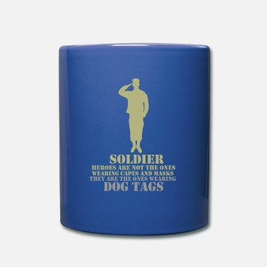 Navy Seals soldados - Taza de un color