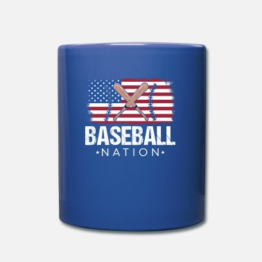 National Colours Baseball nation - Mug