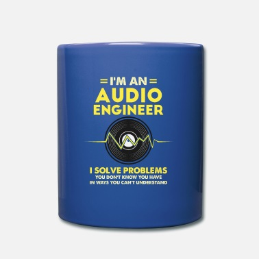 Record &amp I'm An Audio Engineer Gift - Mug