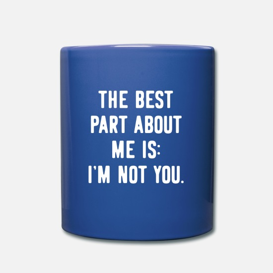 Gift Idea Mugs & Drinkware - Provocation provocative Provoke - Mug royal blue