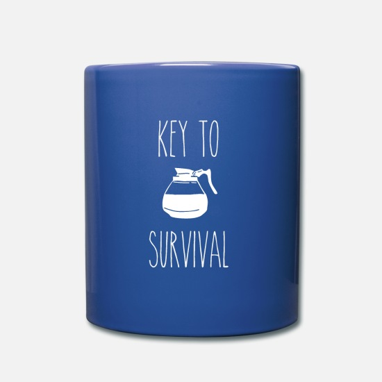 Gift Idea Mugs & Drinkware - Survival Outdoor Adventure Survival Training Camp - Mug royal blue
