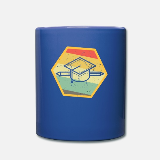 Birthday Mugs & Drinkware - school - Mug royal blue