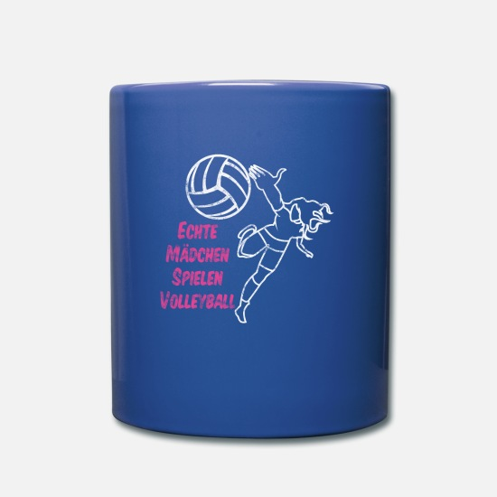 Bloc Mugs et récipients - VOLLEYBALL FISTBALL BEACH VOLLEYBALL GIFT - Mug bleu royal